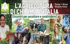 Coldiretti presenta il primo dossier Lavorare e Vivere Green in Italia #food #green #greenecononomy #firenze