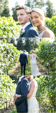 bride and groom portrait photos as they stand and walk in vineyards. Copdock Hall barn suffolk, Rebecca Prigmore Photography