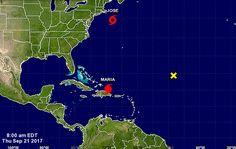 En su paso por el Caribe, elojo del huracán María ha provocado graves daños a la isla de Puerto Rico y a República Dominicana, las cuales se encuentran #HuracánMaría #María #PuertoRico #Dominica