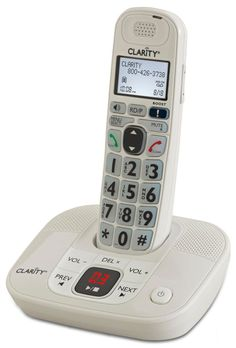 CLARITY-D712 amplified low vision cordless phone #Clarity