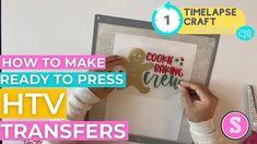 How to Make HTV Transfers: Ready to Press! | Silhouette School Blog