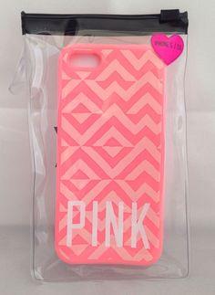 Authentic! Victoria's Secret PINK Aztec Coral Apple iPhone 5 5S Case Phone Cover NEW #VictoriaSecret #victoriassecretpink #pink #iphonecase