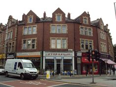Shops, Woodhouse Street, Hyde Park Corner, Leeds