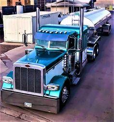 Millions of Semi Trucks: Photo Big Rig Trucks, Semi Trucks, Cool Trucks, Peterbilt 359, Peterbilt Trucks, Ranger, Fuel Truck, Trailers, Custom Trucks
