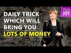 Abraham Hicks Daily Trick Which Will Bring You Lots Of Money! - YouTube