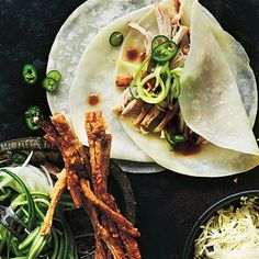 Try this Asian-Style Pork Belly Pancakes recipe by Chef Donna Hay. This recipe is from the show Donna Hay: Basics To Brilliance.