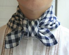 More of a neckerchief than a scarf, but still cozy looking.