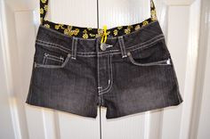 Girls Jeans bag Denim Bag Recycled Jeans bag by RobynFayeDesigns, $25.00