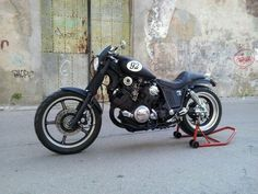 Photo session by Ricardo Gaudencio Virago Bobber, Virago 535, Bobber Motorcycle, Brat Bike, Xjr, Custom Bikes, Cool Bikes, Cars And Motorcycles, Motorbikes