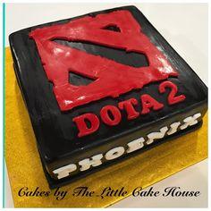 Dota 2 cake
