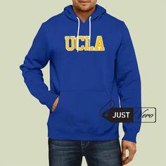 Hoodie Pullover Blue – UCLA Logo