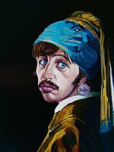 """I Get High With Alittle Help From Vermeer!"" by Dave MacDowell Studios, via Flickr"
