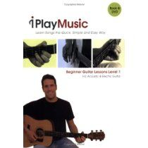 Beginner Guitar Lessons Level 1: For Acoustic & Electric Guitar (Book & DVD) Paperback