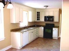 muebles de cocina de color blanco