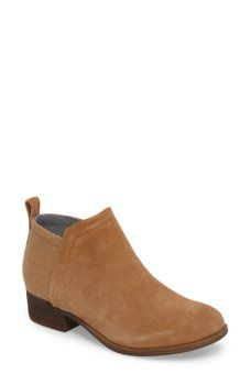 TOMS - Deia Leather Ankle Bootie Chelsea Boots, Short Boots, Ankle Booties,  Toms 7ee9385d69