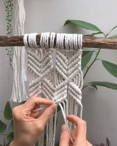 Want to learn macram   and become a confident macrame artist  My 4-week online course has helps lots of women to master macram   and start selling their macram   wall hanging  plant hangers and more online and at local markets  I run this course three times per year  To join the waiting list  click below  #crafts #diys #patterns #hacks Diy Sewing Projects, Sewing Diy, Peg Bag, Ironing Board Covers, Diy Clothes Refashion, Plant Hangers, Waiting List, Hanging Plants, Little Miss