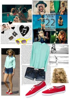"""""""Taylor swift style"""" by mnn2012 ❤ liked on Polyvore"""