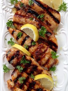 lemon garlic chicken breast tenders recipe -So clearly this one is for the major garlic lovers. | CiaoFlorentina.com