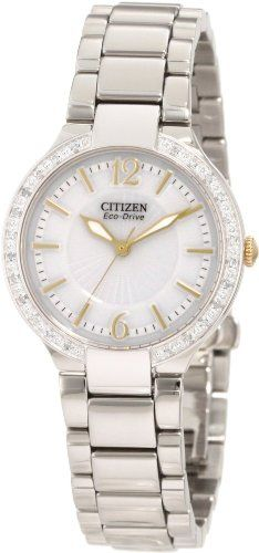 Citizen Womens EP597456A EcoDrive Firenza Watch *** Details can be found by clicking on the image.