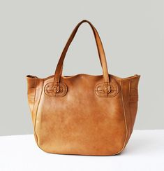 Handmade Women's Leather Bag / Leather Tote Bag