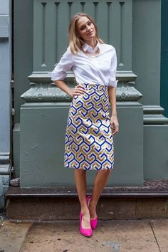 Shop for beautiful pencil skirts with golden and blue brocade fabric online at Shabby Apple! Find vintage & retro inspired modest clothing & cute accessories for women in a variety of sizes, fabrics, shapes & styles at www.shabbyapple.com.