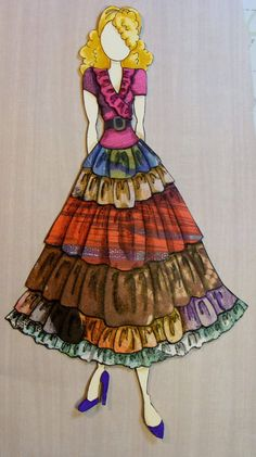 Created by Mary Taylor of FB's Julie Nutting Paper Dolls and Other Fun Stuff fame