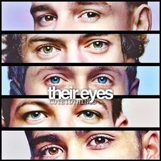 You know your AWESOME if you can tell who it is by their eyes