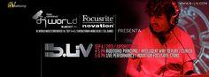 B-Liv at Dj World Music Conference México 2013