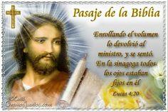 Vidas Santas: Santo Evangelio según san Lucas 4:20