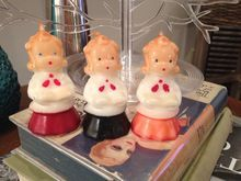 Gurley Novelty TRIO Choir Girl Candles ~ Christmas