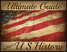 Free Early US History Resource List by @Rebecca @ Mom's Mustard Seeds, featured on Free Homeschool Deals!