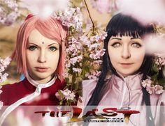 The Last - Ksenia Seliverstova( Nikki) Sakura Haruno, Katerina Twenty(Makurme) Hinata Hyuga Cosplay Photo