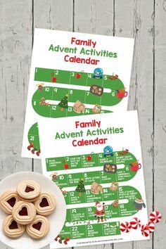 Christmas Dance, Christmas Makes, Christmas Cards To Make, A Christmas Story, Advent Calendar Activities, Holiday Activities, Countdown Until Christmas, Holiday Fun, Calendar Printable
