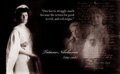 Her Imperial Highness Grand Duchess Tatiana Nikolaevna Romanova of Russia