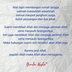 Jagalah Allah maka Allah akan menjagamu Islamic Inspirational Quotes, Islamic Quotes, Family Rules, Self Reminder, Muslim Couples, Bait, Deep Thoughts, Kids And Parenting, Quran