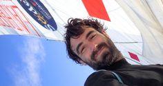 Photo sent from the boat La Fabrique, on November 11th, 2016 - Photo Alan RouraPhoto envoyée depuis le bateau La Fabrique le 11 Novembre 2016 -  Photo Alan Roura