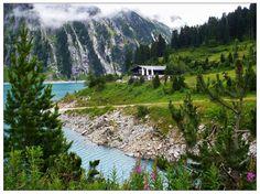 Schlegeisstausee, Zillertal, Austria