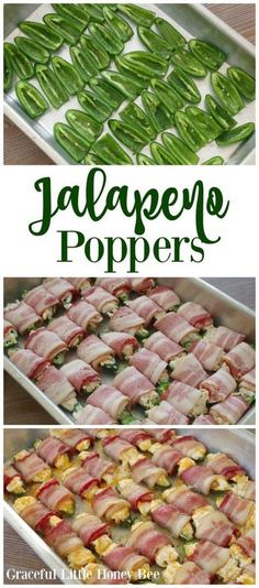 See how to make these DELICIOUS Cheesy Bacon Jalapeno Poppers on gracefullittlehoneybee.com!