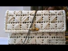 How to - Plastic Canvas Clutch Wallet w/ Plastic Canvas - Bag-O-Day Crochet Tutorial Plastic Canvas Stitches, Plastic Canvas Coasters, Plastic Canvas Crafts, Plastic Canvas Patterns, Diy Tote Bag, Diy Purse, Canvas Purse, Canvas Tote Bags, Crochet Bag Tutorials