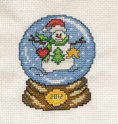 Snowman Snow Globe made for Christmas Gifts this year :)