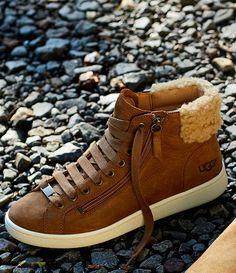 UGG® Olive Hi Top Sneakers