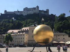 Gamla stan i Salzburg.