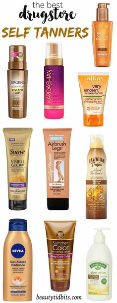 Get your glow on a budget with the best drugstore self tanners that will help you get beach-ready skin without the telltale smell or streaks!: