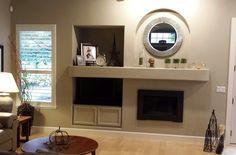 Client's Fireplace/TV Console
