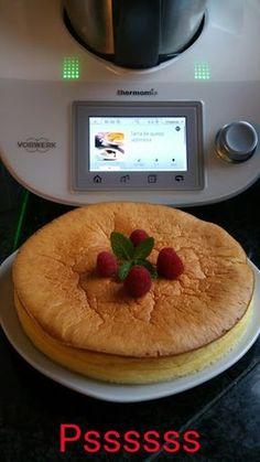 TARTA JAPONESA LIGERA THERMOMIX Bellini, Sin Gluten, Cake Pops, Tiramisu, Fondant, Food And Drink, Cooking, Breakfast, Sweet