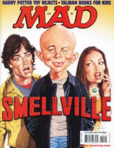 10 Mad Magazines 415 March 2002 Harry Potter Smallville Behind Enemy Lines Comic Book Covers, Comic Book Heroes, Comic Books, Mad Magazine, Magazine Covers, American Humor, Satire Humor, Mad Tv, Mad World