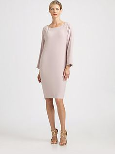 St. John - Crepe Dress - Saks.com