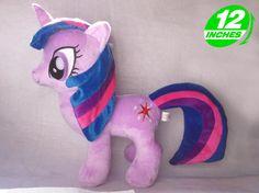 My Little Pony TWILIGHT SPARKLE Plush Doll POPL8004B