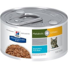 Hills Prescription Diet Metabolic Weight  Urinary Care Tuna  Vegetable Stew Canned Cat Food 2429 oz -- Click image to review more details.Note:It is affiliate link to Amazon.