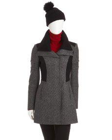Nicole Miller two-tone tweed jacket. She so gets me!